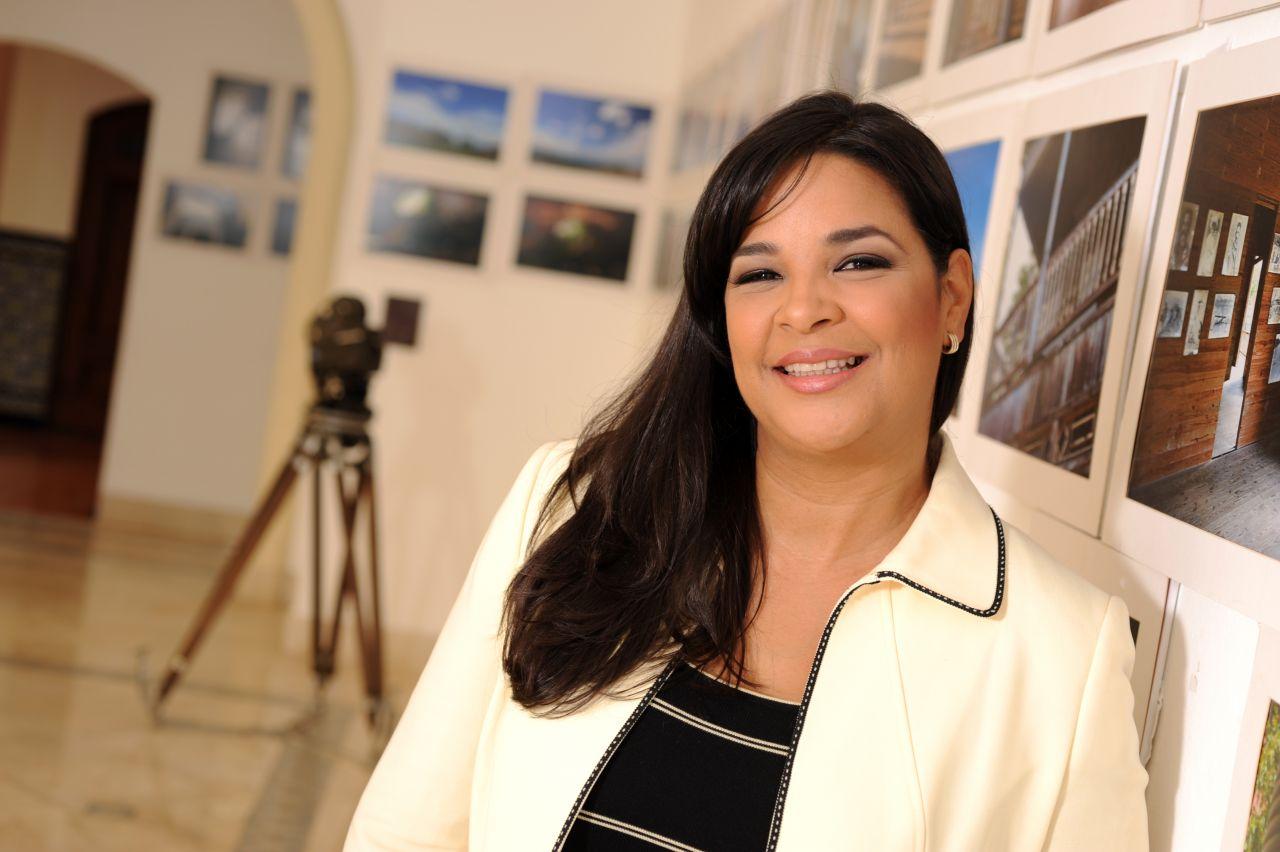 Yvette Marichal Directora de la Dirección General de Cine de República Dominicana