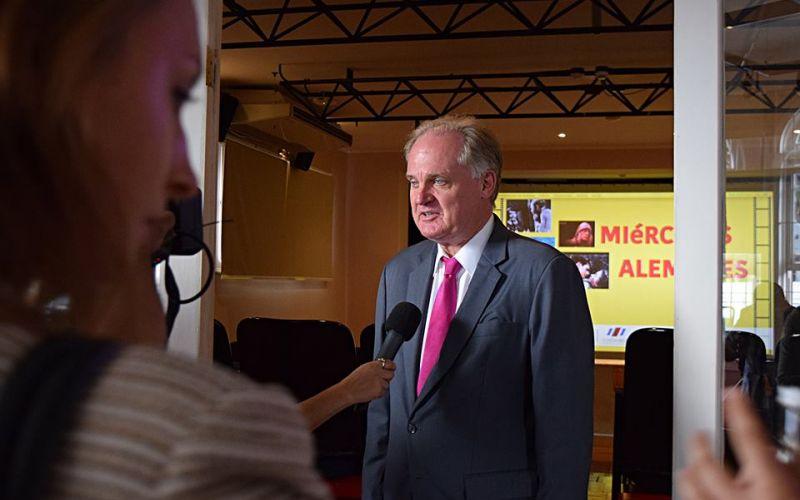 Ingo Winkelman, Embajador de la República Federal de Alemania en San José